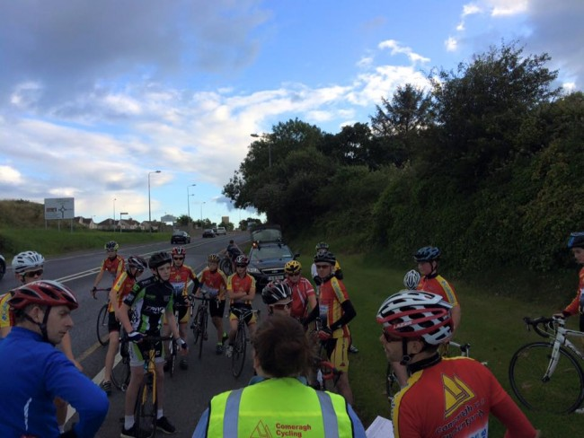 Youth Academy time trial