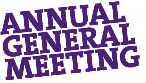 AGM confirmed Friday Nov 27th @ 7.30pm