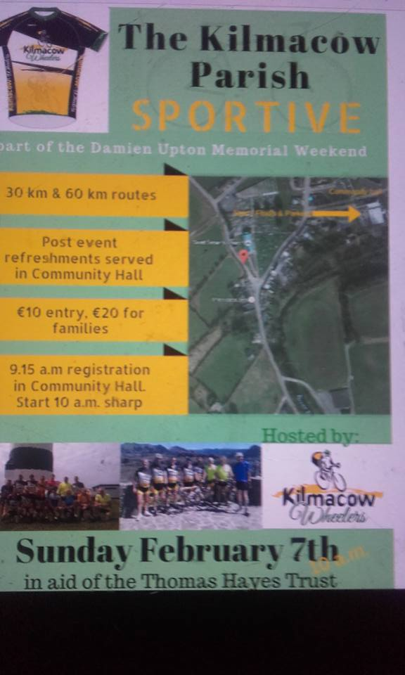 Kilmacow Wheelers First Sportive