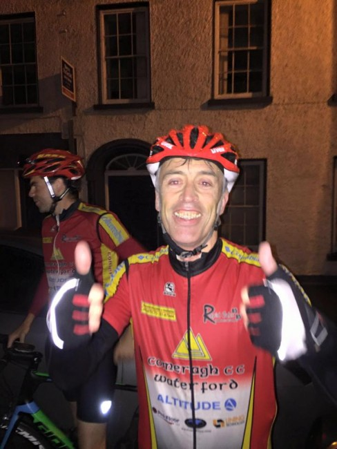 John Tracey's epic 400km in one day.