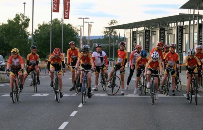 Underage Training & Racing at Butlerstown Retail Park.
