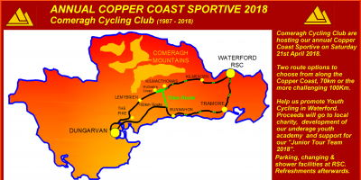 Copper Coast Sportive, April 21st, 2018