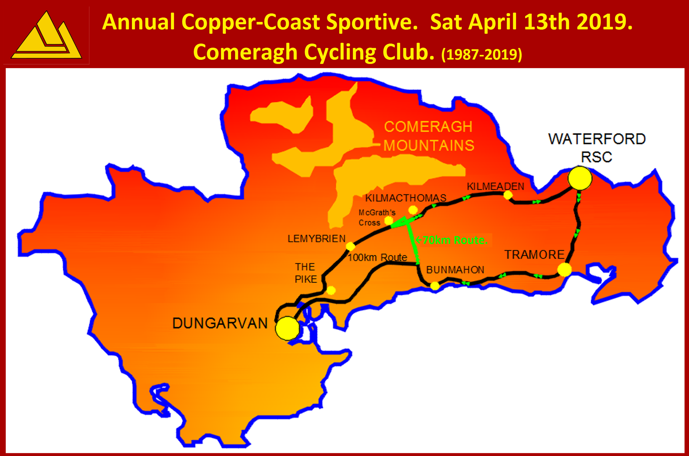 Copper Coast Sportive, April 13th 2019.