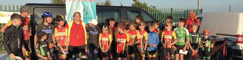 Comeraghcc Youth Training League Overall Results.