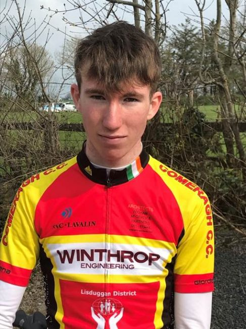 Rider Profile: James O'Shea.
