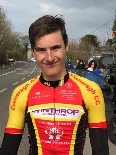 Rider Profile; Ciarán Frisby.